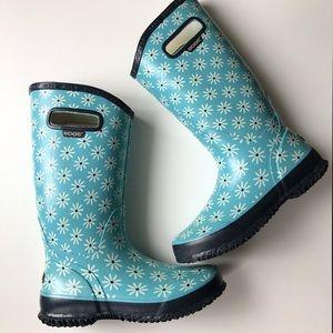 BOGS rain boots blue size 7